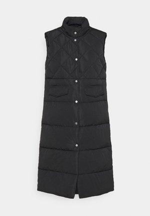 ONLSTACY QUILTED WAISTCOAT - Waistcoat - black