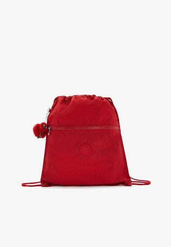 BACK TO SCHOOL SUPERTABOO - Sports bag - cherry tonal