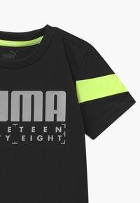 Puma - ACTIVE SPORTS POLY TEE UNISEX - T-shirt imprimé - black - 2