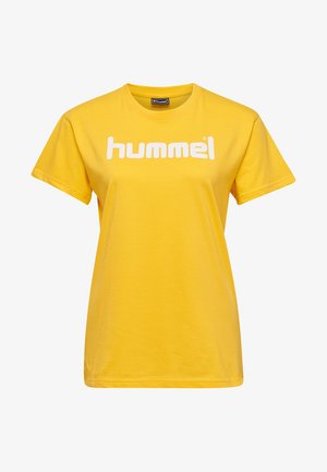 HMLGO  - T-shirts print - sports yellow