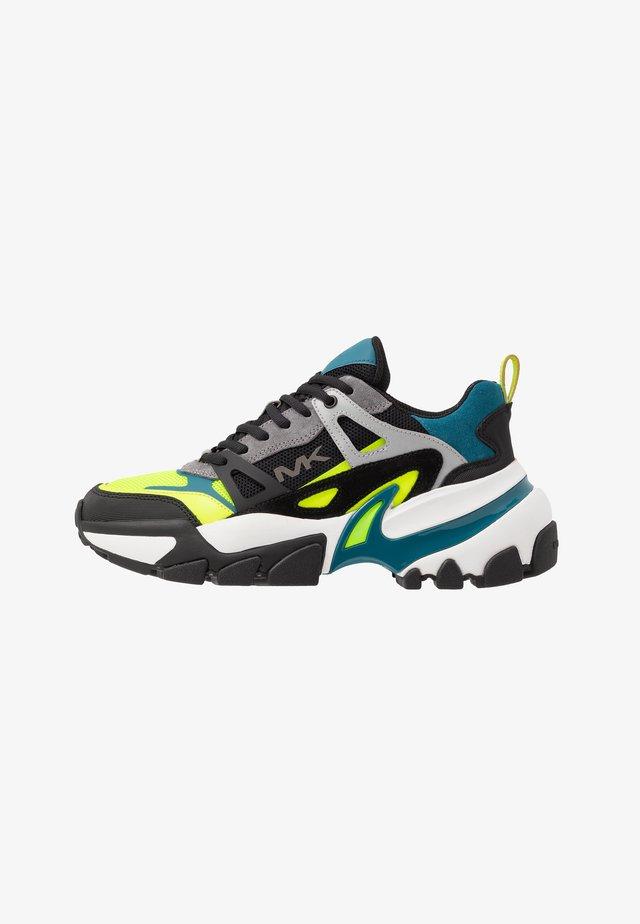NICK - Sneakersy niskie - neon lemon