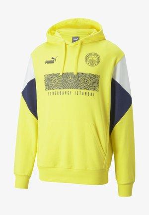 Club wear - blazing yellow-medieval blue