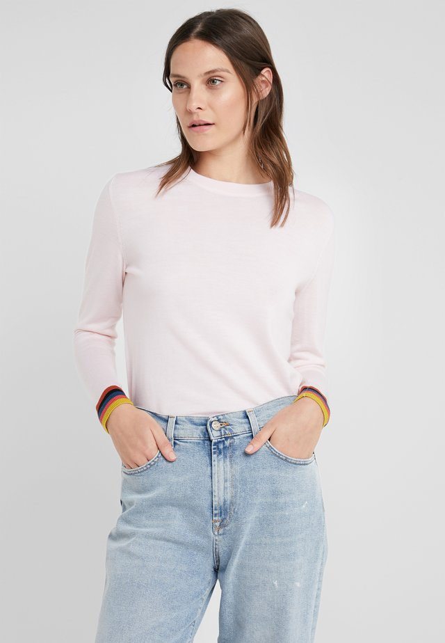 Pullover - pale pink