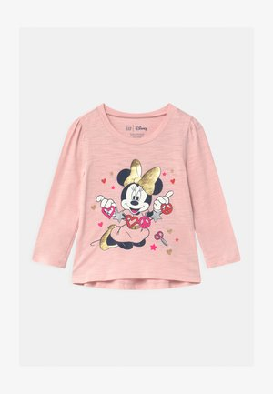 TODDLER GIRL MINNIE MOUSE  - T-shirt à manches longues - minimal pink