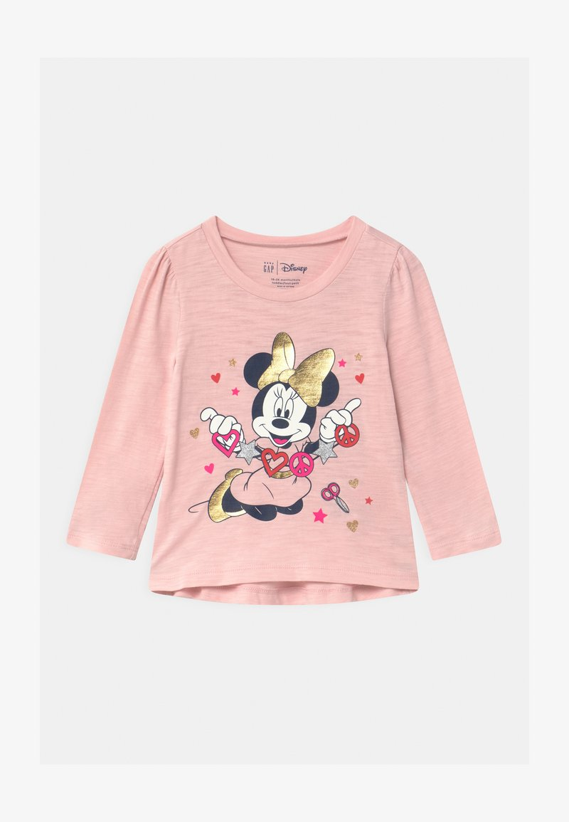 GAP - TODDLER GIRL MINNIE MOUSE  - Maglietta a manica lunga - minimal pink