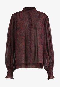AllSaints - LEONIE STANZA SHIRT - Button-down blouse - red - 2