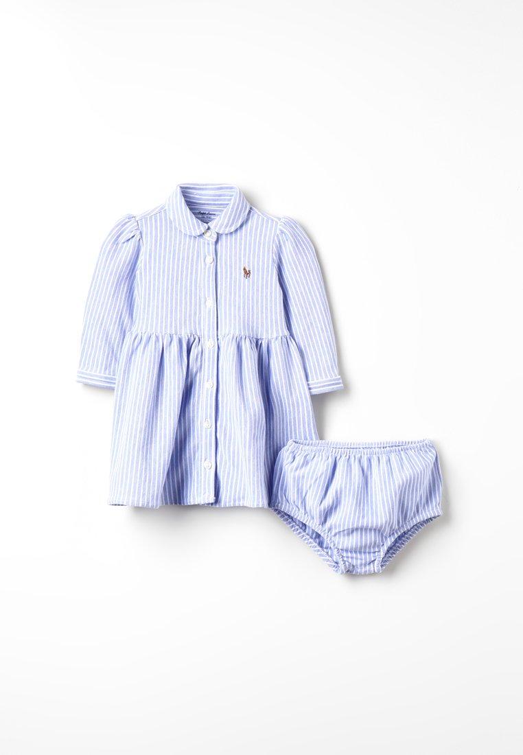 Bambini OXFORD STRIPE DRESS BABY SET - Abito a camicia