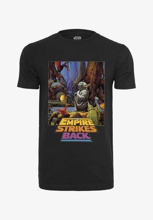STAR WARS YODA POSTER  - Camiseta estampada - black