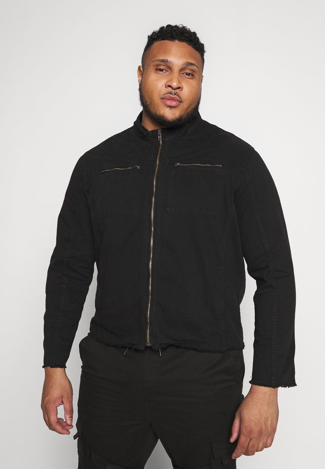 USMESA JACKET - Summer jacket - black