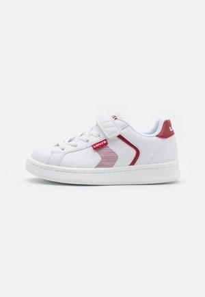 BOULEVARD UNISEX - Tenisky - white/red
