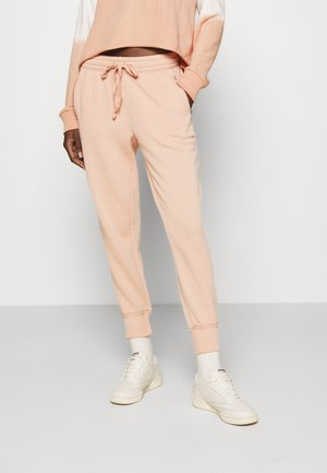 OF MIND ZIP JOGGER - Tracksuit bottoms - sands