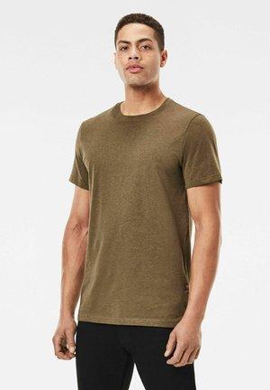 BASE-S - T-shirt basic - wild olive htr