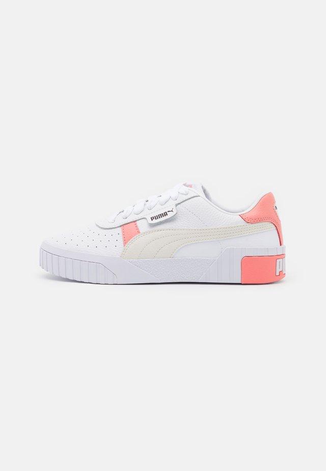 CALI  - Baskets basses - white/salmon/rose/gray
