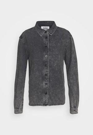 MAJKEN - Camicia - black stone