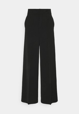 ADIA WIDE PANT - Trousers - black