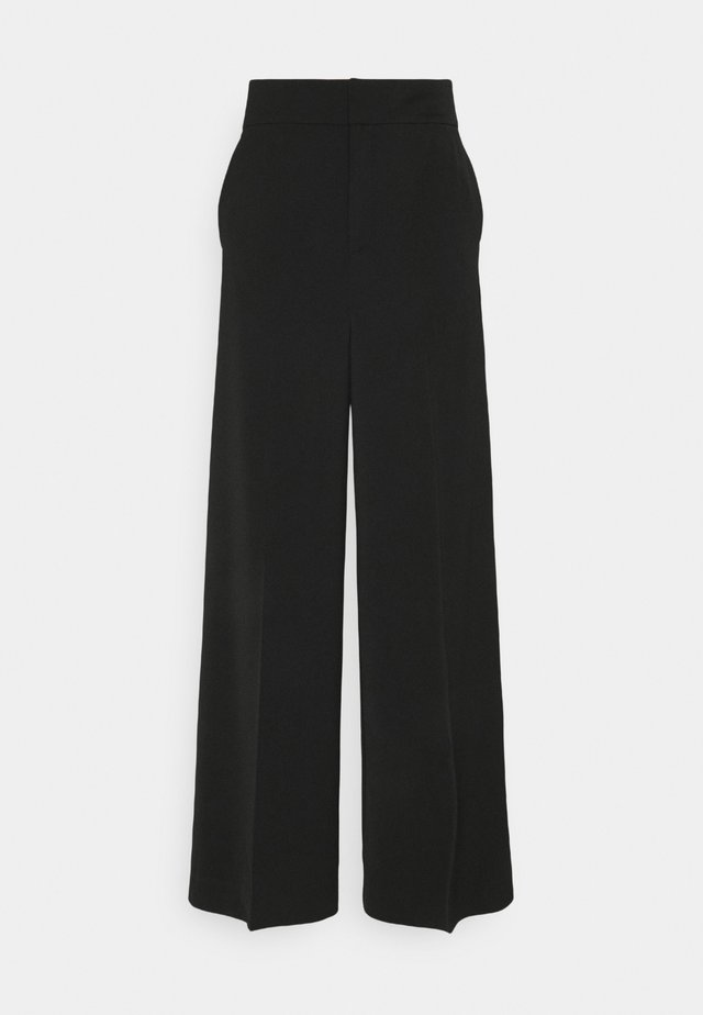 ADIA WIDE PANT - Broek - black