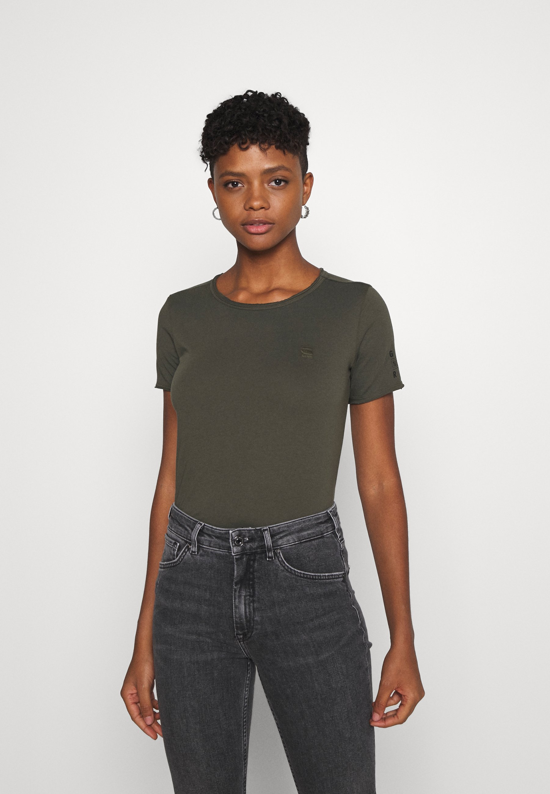 Damen MYSID R T OPTIC SLIM WMN  - T-Shirt print