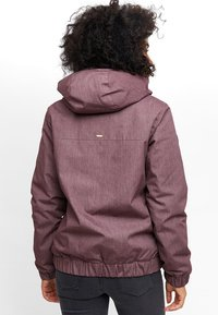 Mazine - LIBRARY - Winter jacket - berry melange - 1