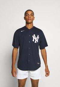 Nike Performance - MLB NEW YORK YANKEES OFFICIAL REPLICA HOME - Artykuły klubowe - team dark navy - 0
