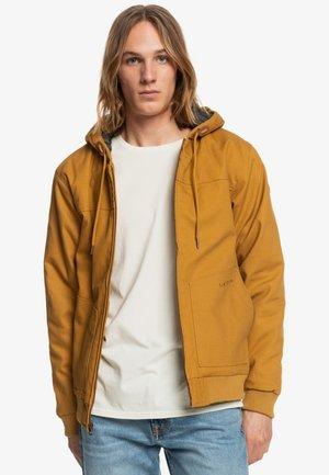 Waterproof jacket - bone brown