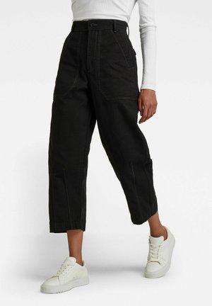 FATIGUE - Straight leg jeans - dk black