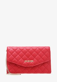 Love Moschino - SUPERQUILTED  - Bandolera - rosso - 4