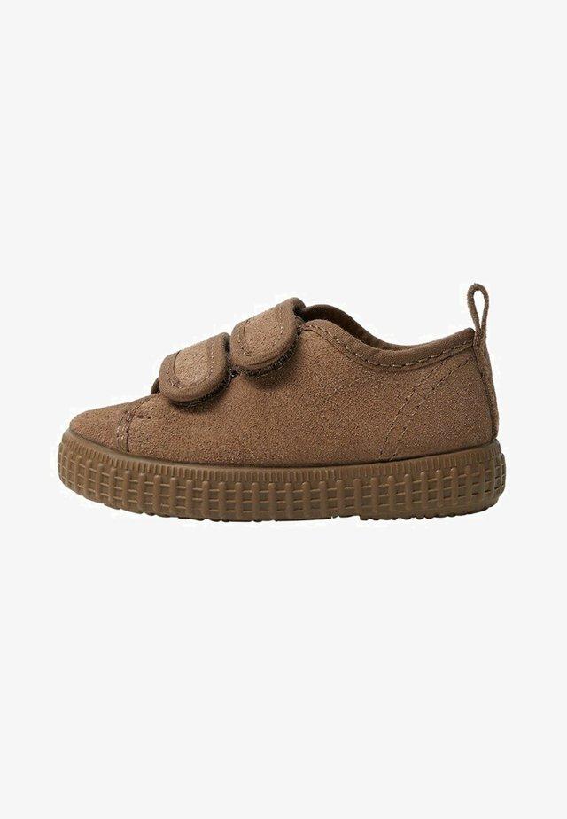 DANIEL - Lær-at-gå-sko - braun