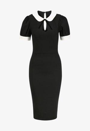 KHLOE - Shift dress - black