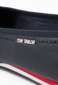 TOM TAILOR - Ballerines - navy - 2