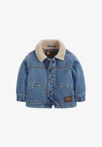 BORG  - Denim jacket - blue