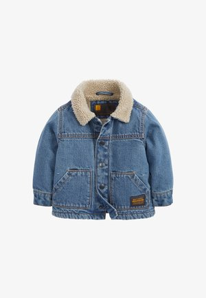 BORG  - Denim jacket - blue