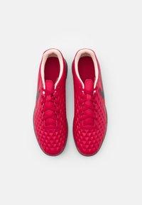 Nike Performance - TIEMPO LEGEND 8 CLUB TF - Astro turf trainers - cardinal red/black/crimson tint/white - 3