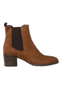 Tamaris - CHELSEA - Classic ankle boots - cognac - 3