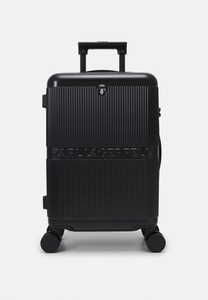 IKONIK HARDCASE TROLLEY - Wheeled suitcase - black