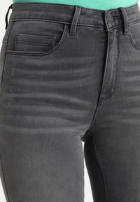 ONLY - ONLROYAL HIGH  - Jeans Skinny Fit - dark grey denim - 5