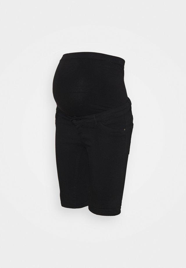 OLMRAIN LIFE - Shorts di jeans - black