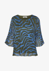 Denim Hunter - DHZITHA  - Blouse - blue zebra print - 5