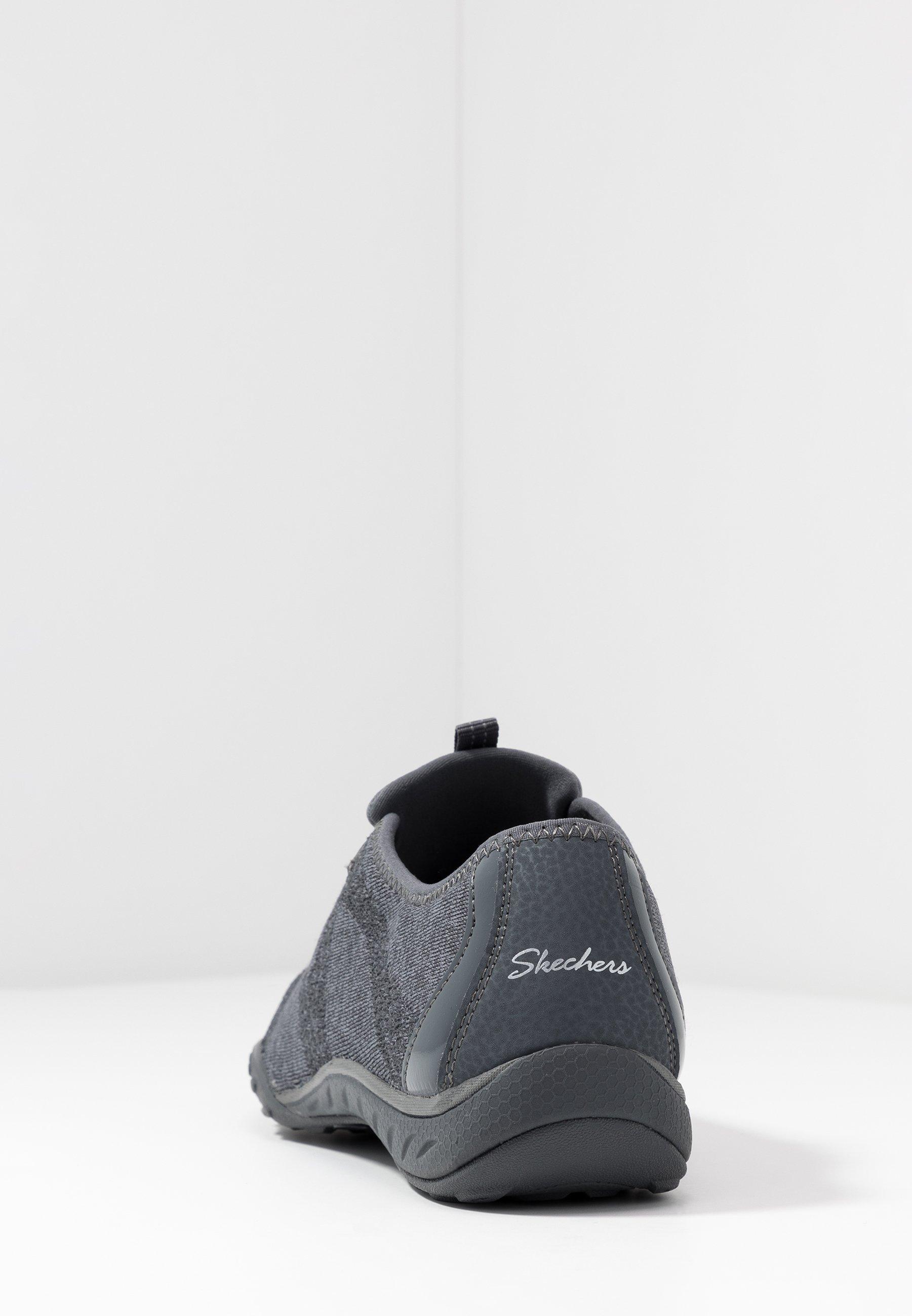Skechers Wide Fit BREATHE EASY Joggesko charcoalgray