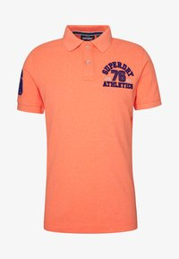 Superdry - CLASSIC SUPERSTATE - Polo - cabana coral grit - 3