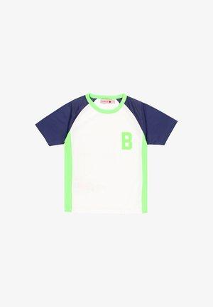 T-shirt print - only colour