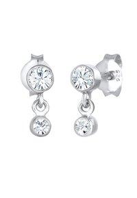 Elli - GLASS CRYSTAL - Earrings - silber - 3