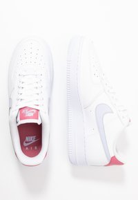 Nike Sportswear - AIR FORCE 1 - Trainers - white/ghost/desert berry - 1