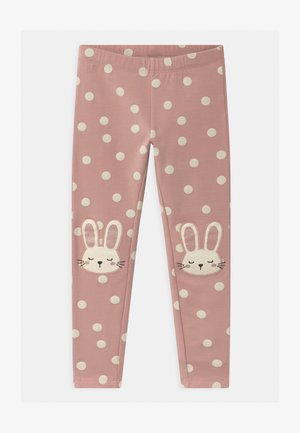 MINI KNEEPATCH COSY - Leggings - Trousers - dusty pink
