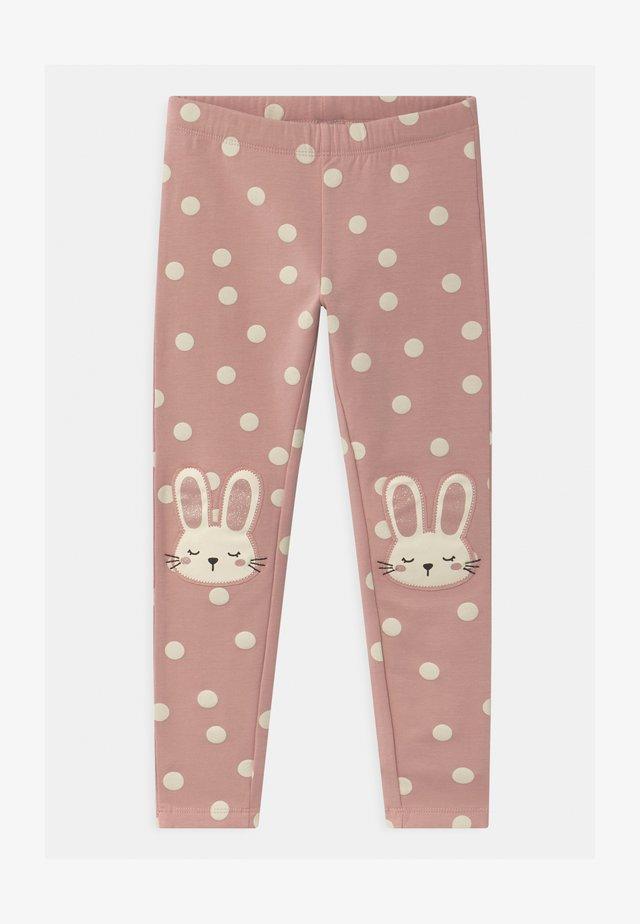 MINI KNEEPATCH COSY - Leggings - Trousers - dusty pink