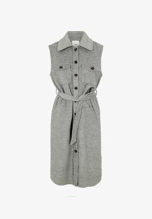 OBJVERA OWEN NOOS - Waistcoat - grey