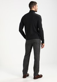 Pier One - Jumper - mottled dark grey - 2