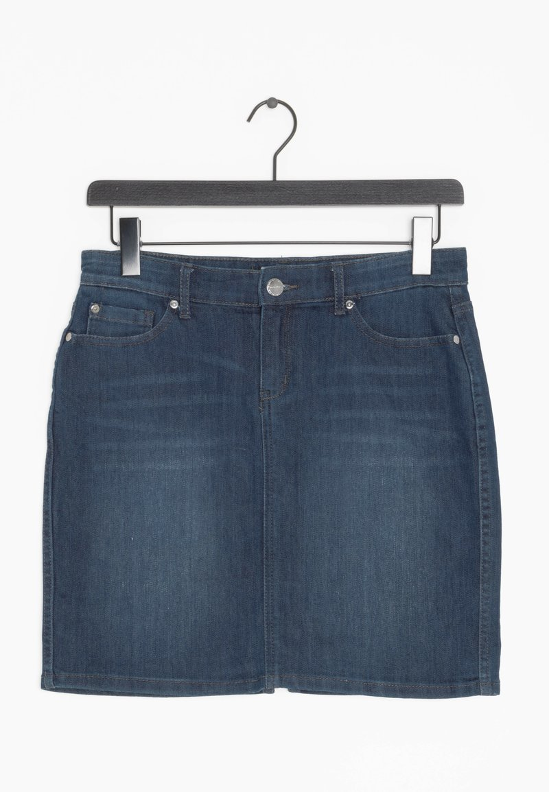 Montego - Spódnica jeansowa - blue