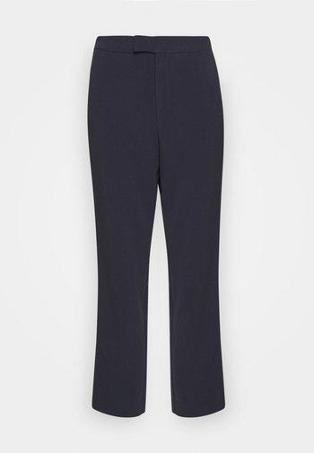 High Waist Trousers - Pantalon classique - dark blue
