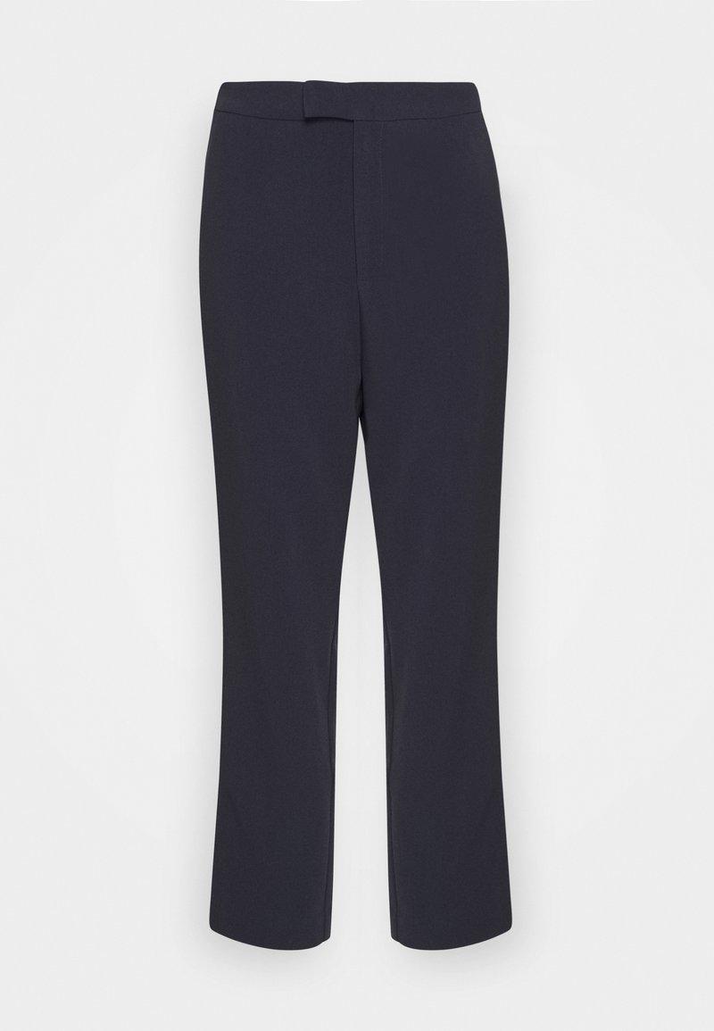 Anna Field - High Waist Trousers - Trousers - dark blue