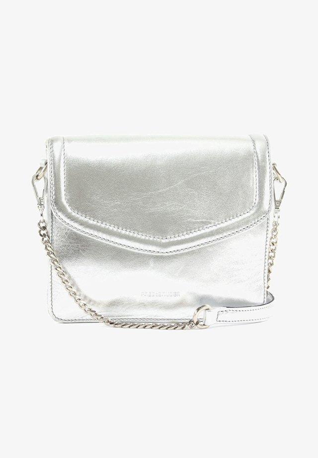 COLOUR POP TAWNY - Across body bag - silver